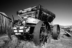 Chariot de minerai d'or, ville fantôme de Bodie Photos libres de droits