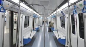 Chariot de métro Images stock