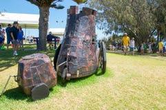 Chariot de patchwork en métal : Punk de vapeur Photographie stock libre de droits