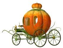 Chariot de potiron de conte de fées de Cendrillon Images libres de droits