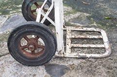 Chariot de rouille Image libre de droits