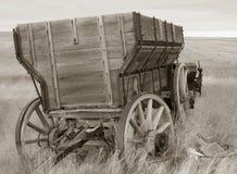 Chariot de son de sépia Photos libres de droits