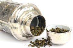 Chariot de thé Images libres de droits