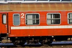 Chariot de train Images libres de droits