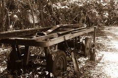 Chariot 2 de vintage Photo libre de droits