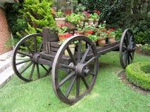 Chariot de vintage au Mexique central Photographie stock