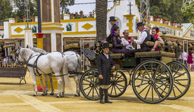 Chariot des chevaux Photo libre de droits
