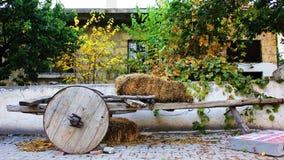Chariot en bois Photographie stock