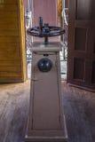 Chariot en bois de chemin de fer Photo stock