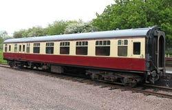 Chariot ferroviaire de train photo libre de droits