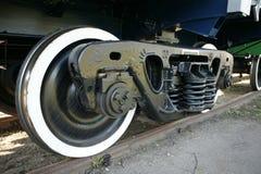 Chariot ferroviaire en acier Image libre de droits