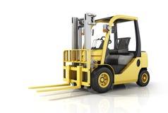 Chariot gerbeur jaune illustration de vecteur