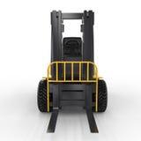 Chariot gerbeur jaune Photo libre de droits