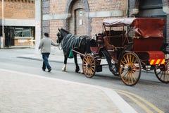 Chariot irlandais traditionnel photos libres de droits