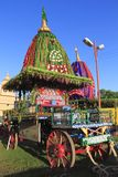 Chariot Of Lord Jagannath. Standing during Rathyatra festival in Kolkata,West Bengal,India royalty free stock photography