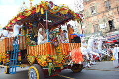 Chariot of Lord Jagannath. Royalty Free Stock Images