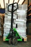 Chariot manuel Photos stock