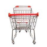Chariot à achats Photographie stock