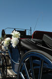 Chariot nuptiale Photographie stock libre de droits