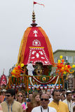 The Chariot passing on Ocean Front Walk street in the 37th Annual Festival of the Chariots Royalty Free Stock Images