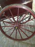 chariot, piège ou chariot en bois Photos libres de droits