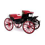 Chariot with red Stock Image