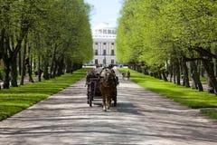 chariot Ressort Pavlovsk Images libres de droits