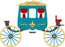 Chariot royal Images libres de droits