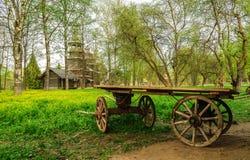 Chariot rural photographie stock libre de droits
