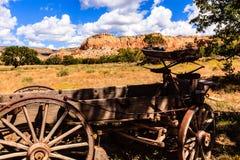 Chariot rustique Photos stock