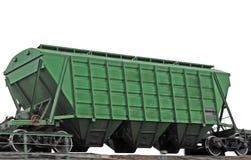 Chariot vert. Image libre de droits