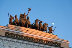 Chariot of victory Royalty Free Stock Images