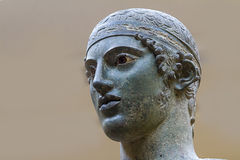 The Charioteer of Delphi Royalty Free Stock Images