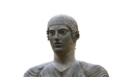 The Charioteer of Delphi Stock Photos