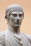 The Charioteer of Delphi Stock Images