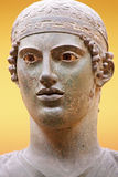 The Charioteer of Delphi, Greece Stock Photo