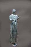 Charioteer of Delphi statue Stock Photos