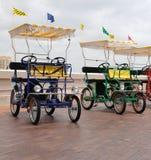 Chariots électriques Image libre de droits