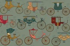 Chariots Photo libre de droits