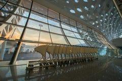 Chariots d'aéroport de Shenzhen Image libre de droits