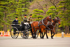 Chariots de cheval Photo stock