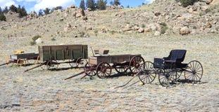 Chariots de vintage photographie stock