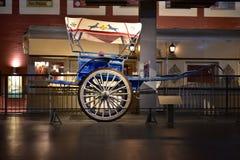 Chariots indiens de cheval de vintage, mode populaire de transport pour des Royals dans l'Inde Photos stock