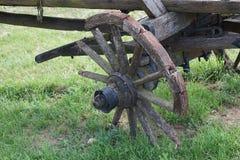 Chariots jetés de cheval ou de boeuf Photographie stock