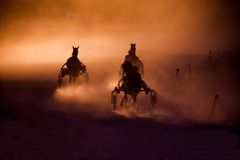 Chariots Of Fire Royalty Free Stock Images