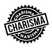 Charisma rubber stamp. Grunge design with dust scratches. Effects can be easily removed for a clean, crisp look. Color is easily changed Royalty Free Stock Photo