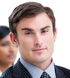 Charismatic business man Royalty Free Stock Image