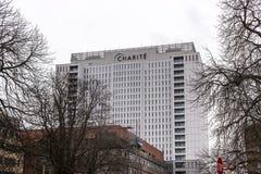 Charité Berlin szpital obraz stock