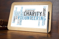 charité Images stock