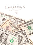 Charitable Donations Stock Image